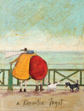 Sam Toft - A Romantic Tryst - 30 x 40cm Canvas Print Wall Art WDC12007