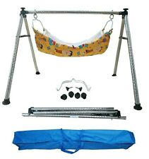 Smart Baby Products Round Pipe Steel Folding Baby Cradle KR5365