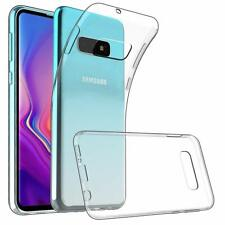 For Samsung Galaxy S10e Case Clear Silicone Slim Gel Cover & Stylus Pen