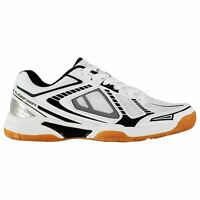 Slazenger Mens Indoor Trainers Squash Shoes Lace Up Padded Ankle Collar Mesh