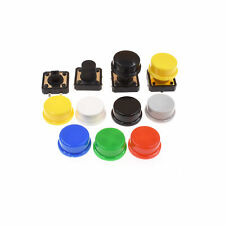 Momentary Tactile Push Button Touch Switch 4p Withcap 12x12x73mm10mm12mm A3gu