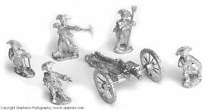 Old Glory AWI 25mm British Artillery Pack New