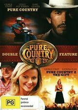 Pure Country/Pure Country: The Gift (DVD, 2014) George Strait NEW