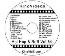 HipHop, Rap & RnB Music Videos DVD Vol 64! Ft E40 French Montana Pitbull Rihanna