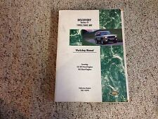 1999-2002 Land Rover Discovery II Service Repair Manual 4.0 TD5 Diesel 2000 2001
