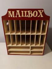 Mail Cubby Desktop Mail Organizer Office Organizeroffice Equipment Church
