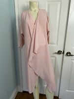 Lularoe Shirley Kimono Small Solid Pink Size Small Soft Coverup