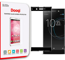 Dooqi For Sony Xperia XA1 Full Cover 3D Cured Tempered Glass Screen Protector