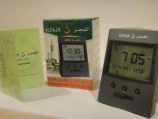 Al Fajr Azan Clock. Table Size Adhan Clock 15 X 9 X 5 Cm