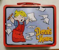 Rare Vintage DENNIS THE MENACE Metal Lunch Box 1998 new series #1 Hank Ketchum!!