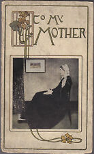 Wallace and Frances Rice - To My Mother - 1st Ed 1912 - Poetry - Art Nouveau