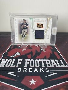 Tom Brady 2020 Flawless Football Card! Numbered 07/20. Game Worn Patch!