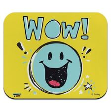 Wow Smiley Face Officially Licensed Low Profile Thin Mouse Pad Mousepad