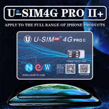 Nano Sim Perfect Unlock SIM Card U-SIM 4G PRO II For iPhone Xs Xr X 8 7 iOS 12.2