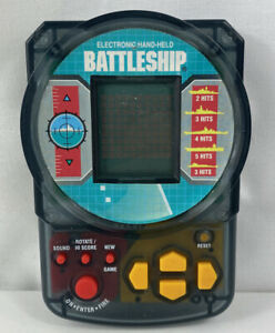 MB Games Battleship 1995 Electronic Hand-Held Retro Vintage Game