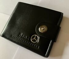 Mercedes Benz Men's  Leather Wallet Perfect Gift Idea uk seller 🇬🇧