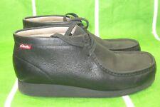 Clarks Stinson Men's Shoes Black 63362 leather  SIZE 11 ***