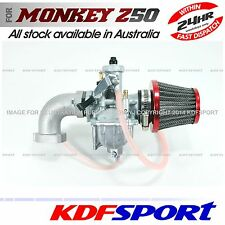 KDF CARBY MANIFOLD CARBURETOR 50 UPGRADE 110CC 125CC 140CC FOR HONDA MONKEY Z50J