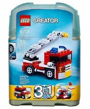 LEGO CREATOR MINI FIRE RESCUE TRUCK ENGINE 6911 HELICOPTER LADDER 3 IN 1 NEW HTF