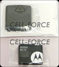 New OEM Motorola Renegade V950 Extended Back Cover Door + Moto OEM BK10 Battery
