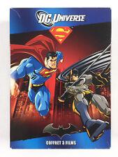 DC Universe Coffret 3 DVD Batman Superman