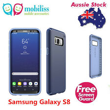 Original Speck Presidio Shockproof Heavy Duty Case Samsung Galaxy S8 Marine Blue