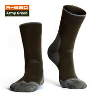 1Pair Men's Long Thick Wool Thermal Boot Socks Walking Hiking Ski Winter Warm