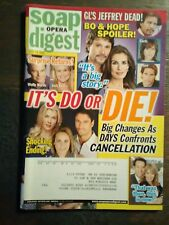 rare SOAP OPERA DIGEST MAGAZINES FROM 07/2009 LOT OF 2 DAYTIME TV SOAP SERIALS