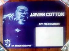 James Cotton My Foundation Orig Jackal Records Rolled Promo Poster