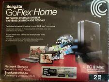 Seagate 2TB GoFlex Network Storage System - NIB
