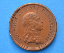 Médaille LUDOVICUS XIIII REX - SERENITAS villes Roi 1653 - LOUIS XIV par MAUGER