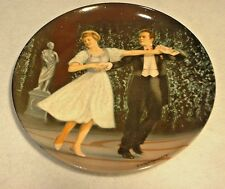 "Edwin M. Knowles Plate ""The Sound of Music"" ""Laendler"" MIB"