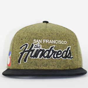The Hundreds Cap Team 2 Los Angeles Yellow Strapback Cap Flat