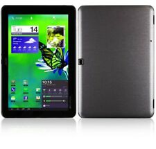 Skinomi Brushed Steel Tablet Skin+Screen Protector for Acer Iconia Tab A510