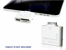 Memory Card & USB Adapter Camera Connection Kit (5+1 In 1) For Apple iPad / iPod