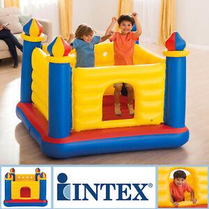Intex Hüpfburg Pool Kinder Rutsche Schaukel Spielhaus Trampolin Springburg 48259