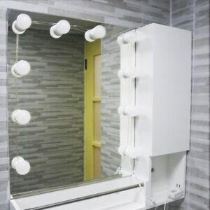 Hollywood Vanity LED Mirror Lights - glamour, festoon, bulb, string lights, adhe