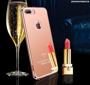 Luxury Ultra-thin Aluminum Mirror Metal Case for iPhone / Samsung