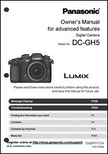 Panasonic Lumix Dc-Gh5 Advanced Camera User Guide Instruction Manual