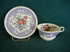 Copeland Spode Mayflower Oversized Breakfast Cup and Saucer Set(s)