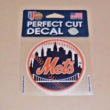 NEW YORK METS 4 X 4 DIE-CUT DECAL OFFICIALLY LICENSED PRODUCT