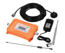 900-2100MHZ Mobile Cell Phone Signal Repeater Booster Amplifier 2G/3G/4G Orange