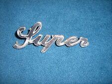 Emblem Badge Alfa Romeo Giulia Super aus Metall, ca. 11 x 4,5 cm