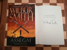 Assegai SIGNED NUMBERED SLIPCASED LIMITED EDITION Wilbur Smith 2009 1st Edition