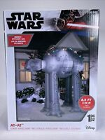 Star Wars AT-AT Giant Airblown Inflatable 8.5FT New Gemmy Christmas Disney 2020