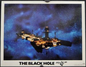 BLACK HOLE 1979 ORIG 11X14 LOBBY CARD (SHIP) MAXIMILIAN SCHELL ANTHONY PERKINS