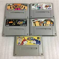 Nintendo Super Famicom Super Bomberman 1 2 3 4 5 set Japan SFC SNES F/S