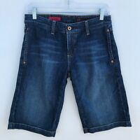 AG Adriano Goldschmied The Dione Bermuda Denim Jean Shorts - Womens Size 27