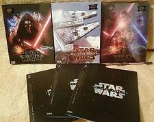 STAR WARS THE FORCE AWAKENS EP. VII Blu-Ray NOVAMEDIA STEELBOOK One-Click Set