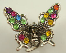 butterfly claw Crystal alloy Rhinestone Hair Clip Jaw Hairpin Fashion hot a1c